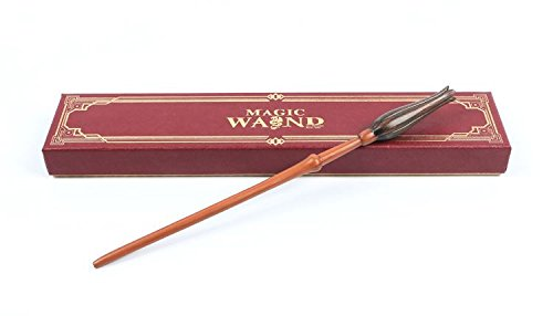 - Cultured Customs Magical Wand Replicas - Steel Core Cosplay Prop Collectible + Free Bonus Collectible Trading Card (Luna)