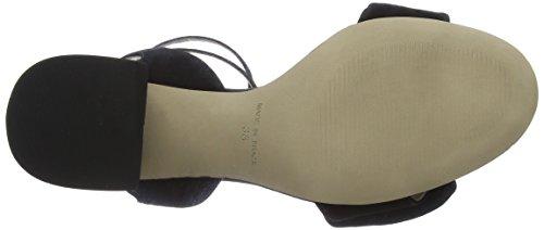 Bronx BX 1254 Bjaggerx, Sandali con Cinturino alla Caviglia Donna Nero (Black 01)