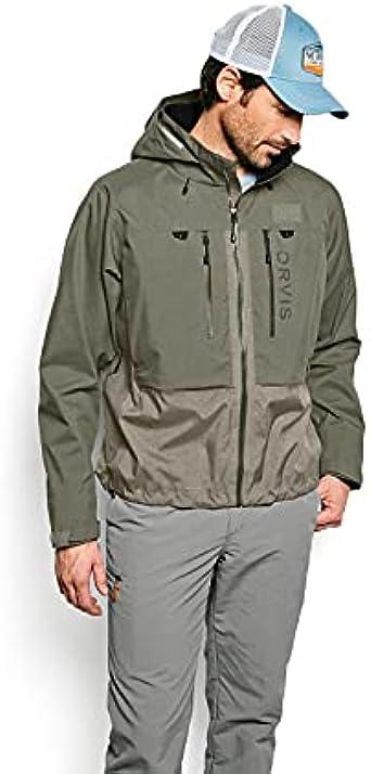 Orvis Pro Wading Jacket-Large-Black-Ash