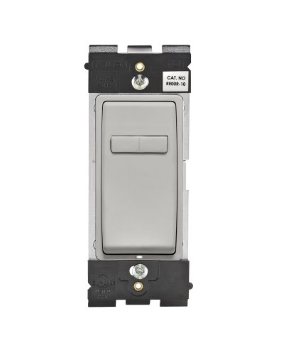 Coordinating Dimmer - Leviton RE00R-PG Renu Coordinating Dimmer Remote for 3-Way or Multi-Location Control, for use with REI06, in Pebble Grey