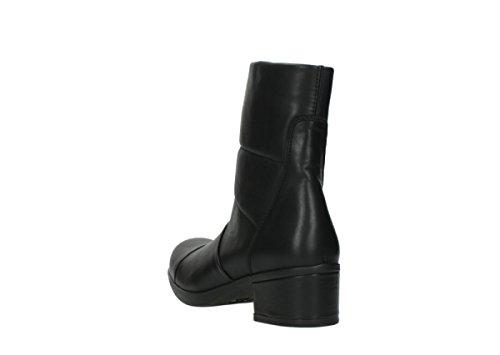 Comfort Stivali Freddo Pelle Cw Di Rivestimento Caldo Nera In 20000 Inverno Wolky Amsterdam 5wqFrgw