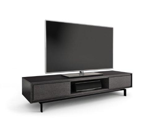 BDI Signal 8323 Low Profile Triple Wide Entertainment Cabinet, Graphite
