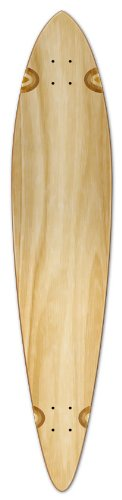 Free Skateboard Deck - Blank Longboard Deck PINTAIL 40