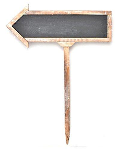 Gartner Studios Large Wood Chalkboard Arrow Sign -