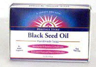 Black Seed Soap Fragrance Free Heritage Store 3.5 oz Bar