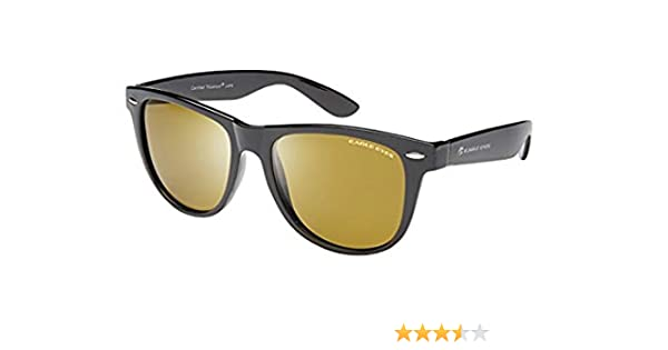 e4cce130cae Amazon.com  Eagle Eyes Max Polarized Sunglasses - Classic Black Vintage  Style  Sports   Outdoors