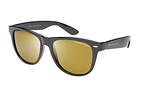 aa16fc5f65e Image Unavailable. Image not available for. Color  Eagle Eyes Max Polarized  Sunglasses - Classic Black Vintage Style