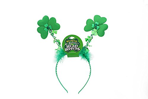 Snoopy Costume For Baby (St Patricks Day Shamrock Headband - Accessories Party Supplies - Green)