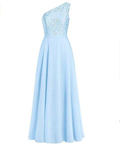 A Linie KA Eisblau Kleid Damen Beauty KUHacwpYq