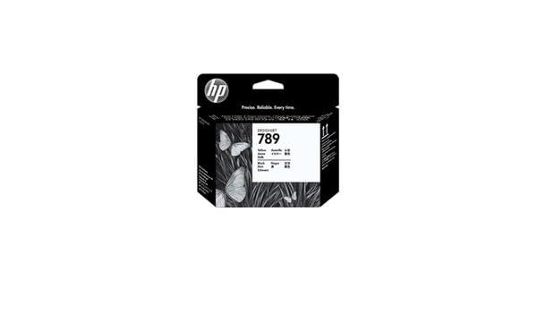 HP Cartucho de Tinta HP Designjet 789 Negro látex de 775 ml 789 Designjet Ink Cartridges, de 15 a 30°C, 1.09 kg (2.4 Libras), 1.0 kg (2.2 Libras): Amazon.es: Oficina y papelería