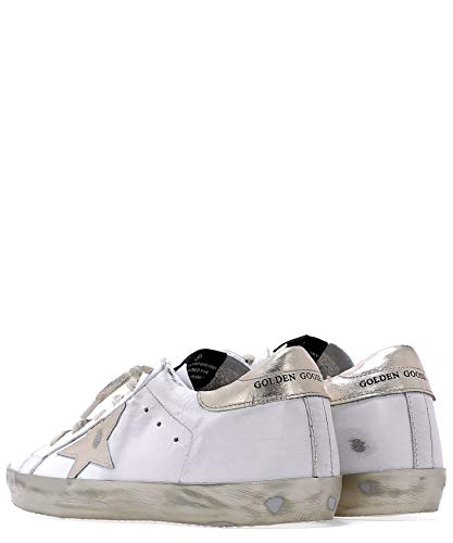 Pelle Gcows590e37 Golden Donna Bianco Sneakers Goose wOcqx6I
