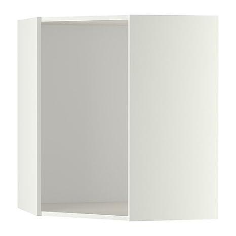 Ikea Metod - Wandeckschrank Rahmen, weiß: Amazon.de: Küche ...