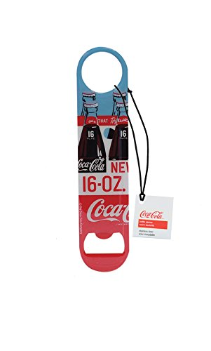 TableCraft's Coca-Cola Flat Metal Bottle Opener, Graphic, Red