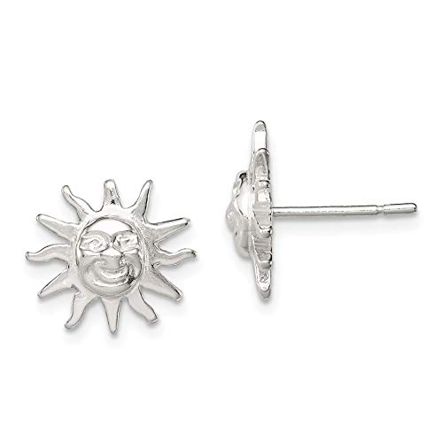 Sterling Silver Sun Mini...