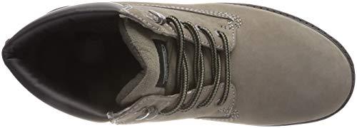 Dockers by 110 Gerli Grau Grigio Uomo Stivali Combat 200 19pa040 HvvwFWna