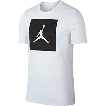Nike Men's ICONIC 23/7 T-Shirt, White (White ), Medium (NKAR7425)