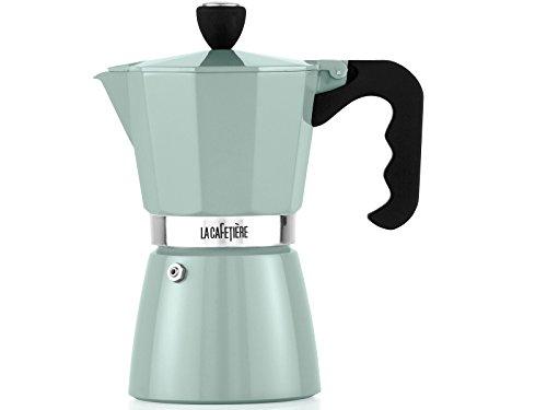 (6 Cup, Pistachio) - La Cafetiere Classic Espresso Coffee Maker Percolator,