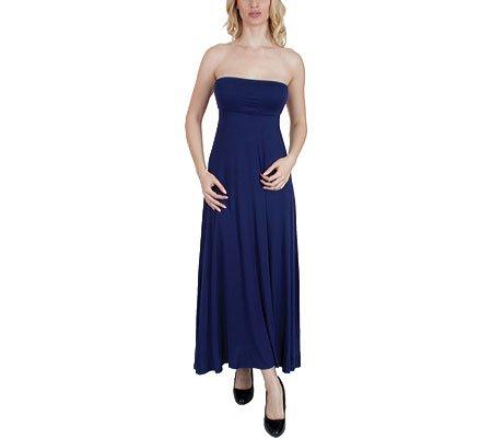 La Agiato Des Femmes 3-en-1 Marine Robe Maxi Xsmall