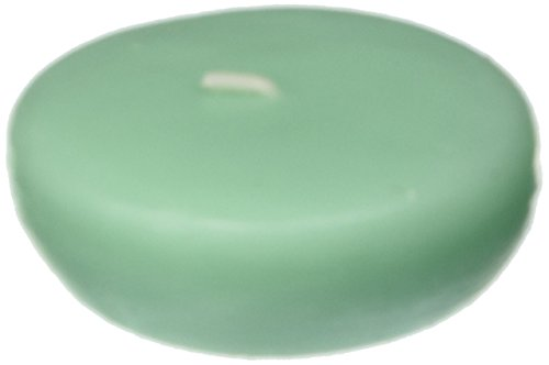 - Zest Candle 24-Piece Floating Candles, 2.25-Inch, Aqua