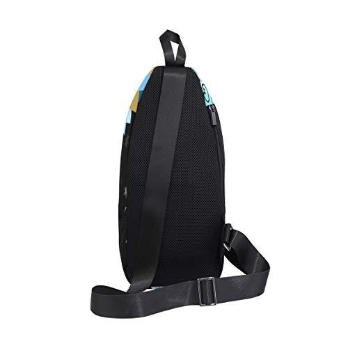 For Bags Men amp; Chest Bennigiry And Sling Backpack Star Bag Women One Moon Crossbody Sun Shoulder wqg7qTU