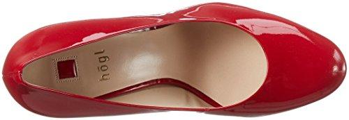 Högl2-12 8004 - Zapatos de Tacón Mujer Rojo (red4000)