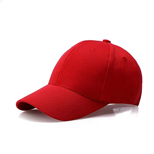 - JXLLC Unisex UV Protection Sweatband Sport Hat, Lightweight Superlite Relaxed Adjustable Hat,Summer Quick-Drying Baseball Cap Outdoor Run Cap for One Size Fits All -6 Colors (Red)