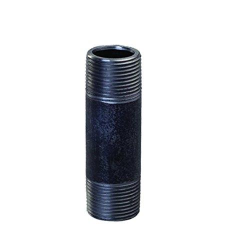 5 Black Steel Nipple - Everflow Supplies NPBL3450 5