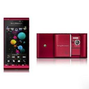 Sangdo Sony Ericsson Satio U1i Red Unlocked Cellular Phone Camera 12MP Free Shipping