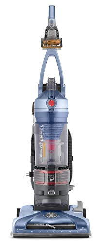 Hoover T-Series WindTunnel Pet Rewind Bagless Corded Upright Vacuum UH70210, Blue (Renewed)