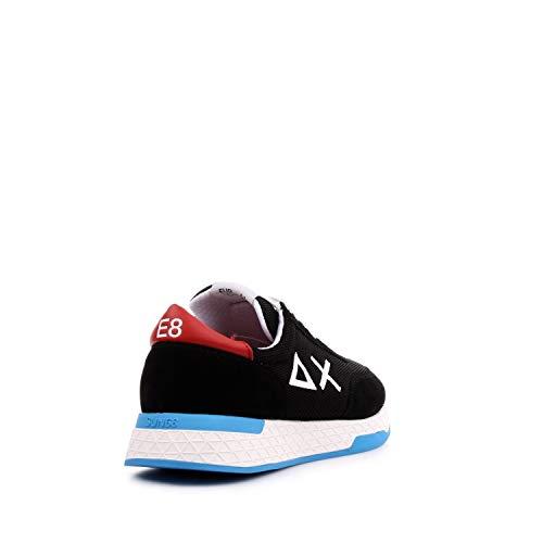 Primavera Nero Sneaker Estate Sun68 Mesh 0w4gEqU