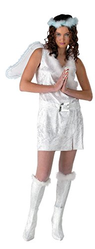 [UHC Luminosity Teen Girl's Christmas Angel Fancy Dress Costume, Teen (7-9)] (Angel Fancy Dress)