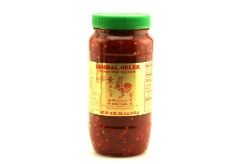 Ground Fresh Chili Paste (Sambal Oelek) - 18oz (Pack of 1) by Huy Fong