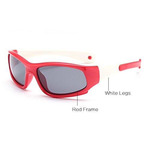 as Goma Gafas Rojo Negro Amarillo Blanco Aproximadamente Gafas de Y Sol 1 Seguridad C6 de Sun polarizado Gafas os 5 de Flexible Ni Ni Ni de os Pynxn C16 los vidrios TYqwfOx