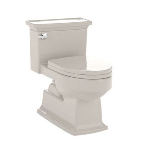 Toto MS934214EF#03 Lloyd Eco 1.28 GPF Elongated 1 Piece Toilet with Gravity Flush Toilet, Bone