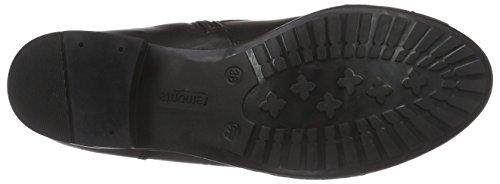 Remonte Dorndorf R6468 - botas de caño bajo de cuero mujer negro - Schwarz (schwarz/schwarz/schwarz 02)