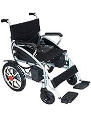Fold & Travel Motorized Lightweight Electric Wheelchair Aviation Travel Safe Heavy Duty Power Wheelchair - Chaise roulante électrique pliante