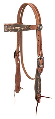 - Weaver Leather Country Charm Browband Headstall