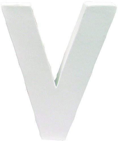 デコパージュ土台 デコパッチ ペーパーマッシュ V アルファベット型 20×20×3cm dp-ac168 B0048DGXRY