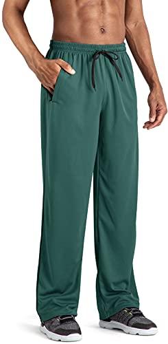 Tacvasen Trainingsbroek voor heren, lichte broek, voor fitness, joggingbroek, workout losse fit, sportbroek met zakken