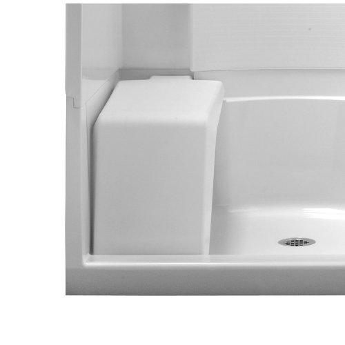 0 White Accord Accord (Sterling 72286804-0 White Accord White Plastic Freestanding Shower Seat,)