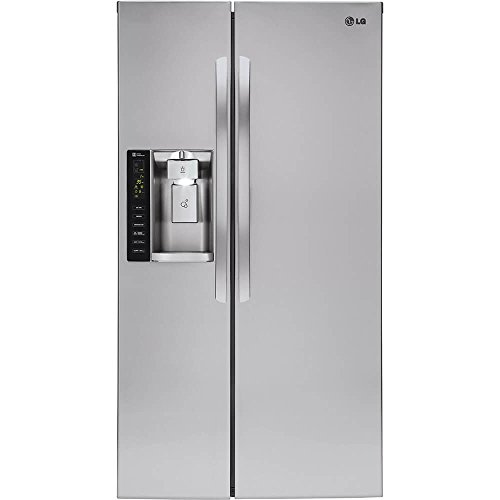 LG LSXC22426S 22 cu. ft. Ultra Large Capacity Side-by-Side Counter-Depth Refrigerator (Ft 22 Refrigerator Cu)