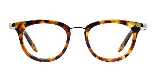 TIJN Urban Acetate Cat Eye Feminine Look Non-prescription - Eyeglasses Feminine