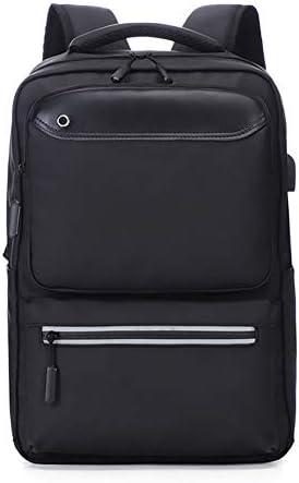 メンズバックパック,ビジネスメンズバックパック、大容量バッグ、15.6インチラップトップを収納できるUSBインターフェイス付きコンピューターバッグ