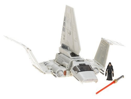 - Hasbro Star Wars Transformers - Emperor Palpatine and Imperial Shuttle