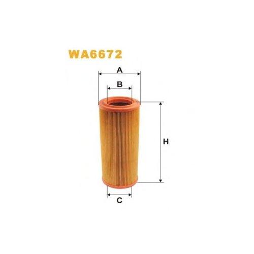 Wix Filter WA6672 Air Filter: