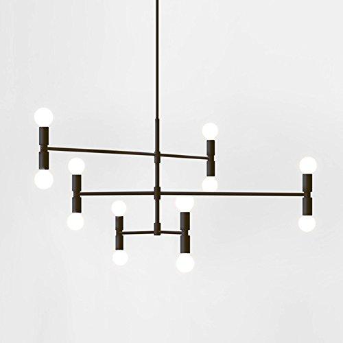 Yoka modern pendant lighting ceiling chandelier hanging lamp with 12 yoka modern pendant lighting mozeypictures Image collections
