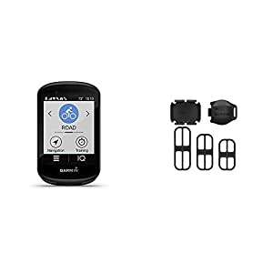Garmin Edge 830, Performance GPS Cycling/Bike Computer with Mapping, Dynamic Performance Monitoring and Popularity Routing & Speed Sensor 2 and Cadence Sensor 2 Bundle