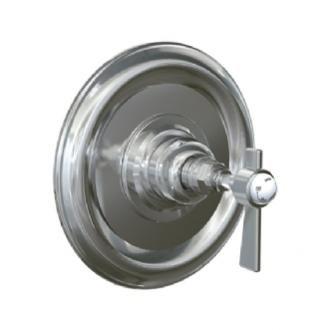 Jado 845536.150 Savina Pressure Balance Shower Valve Trim Kit with Metal Lever Handle, Platinum Nickel