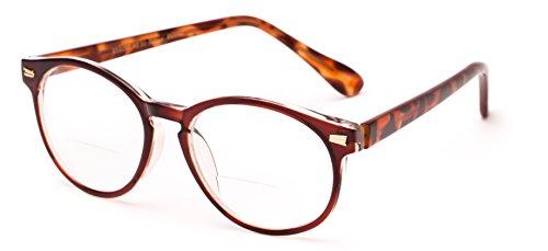 48089df8e05 Readers.com The Actor Bifocal Round Tortoiseshell Glasses - Import It ...