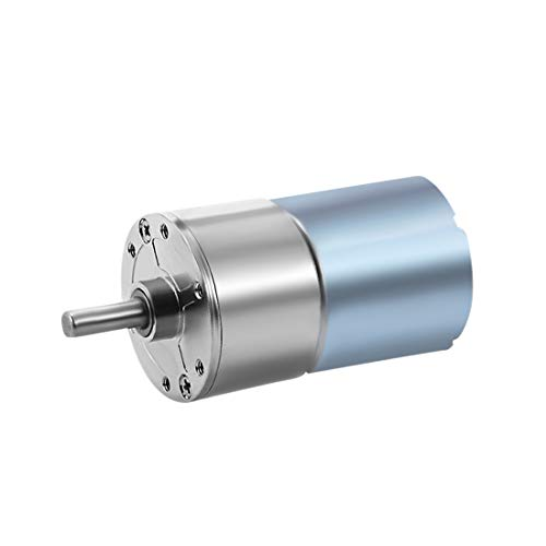 uxcell 12V DC 10RPM Gear Motor High Torque Electric Micro Speed Reduction Geared Motor Centric Output Shaft